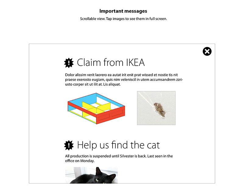Ikea Silvester portfolio rickard widell